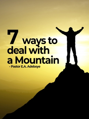 7 ways of overcoming a mountain